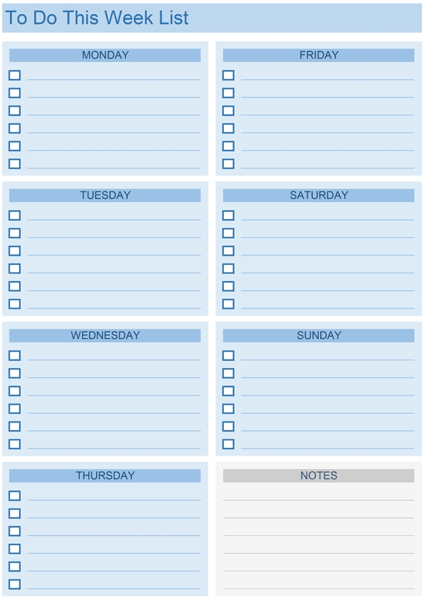 Daily To Do List Templates For Excel in Excel Daily To Do List Template 24100