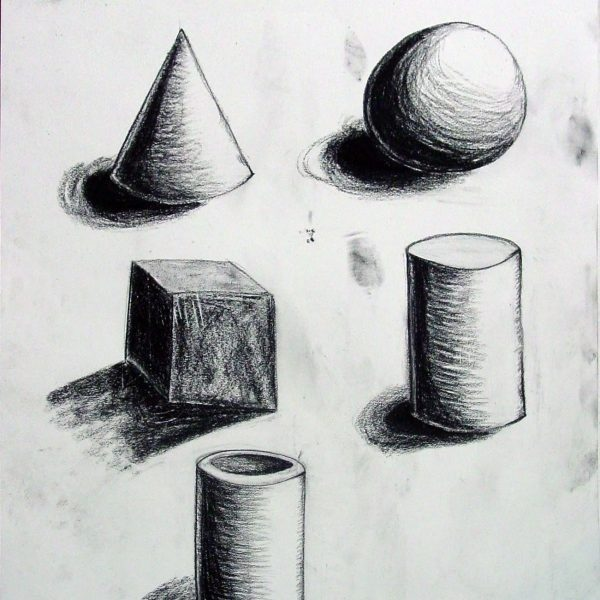 Day 3: Elements Of Art (Line, Shape, Form And Value) | Art At In with regard to Form In Art Drawing