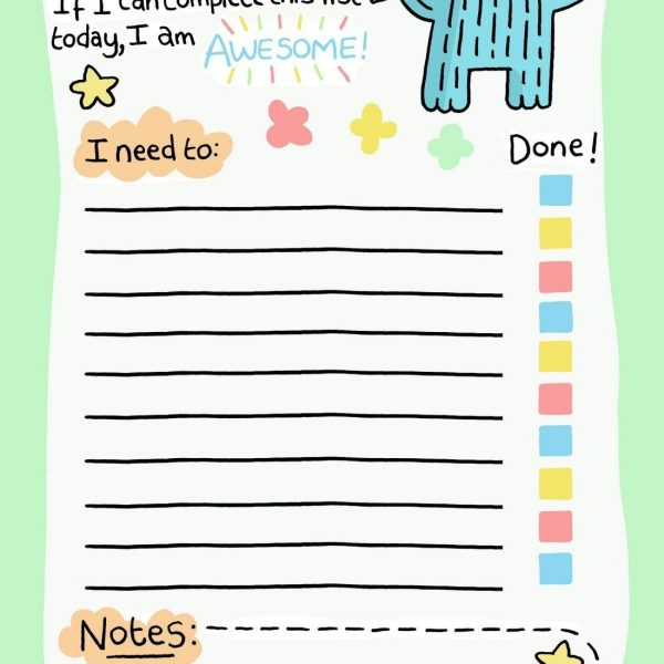 day 6 at nanowrimo making a to do list free printable with