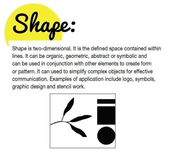 Definition Of Shape | Art Education Essentials | Pinterest intended for Shape In Art Definition 23786