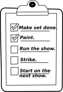 Do List Clipart Black And White within List Clipart Black And White 20288