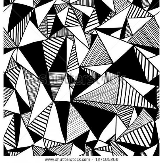 Drawing Animals Geometric Shapes - Google-Søk | Geometric intended for Geometric Shapes Art Black And White 24483