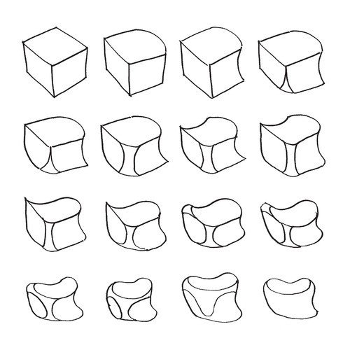 Drawing Form:a Drawing Exercise That Uses A Cube Drawing As A inside Form Drawing Exercises 23726