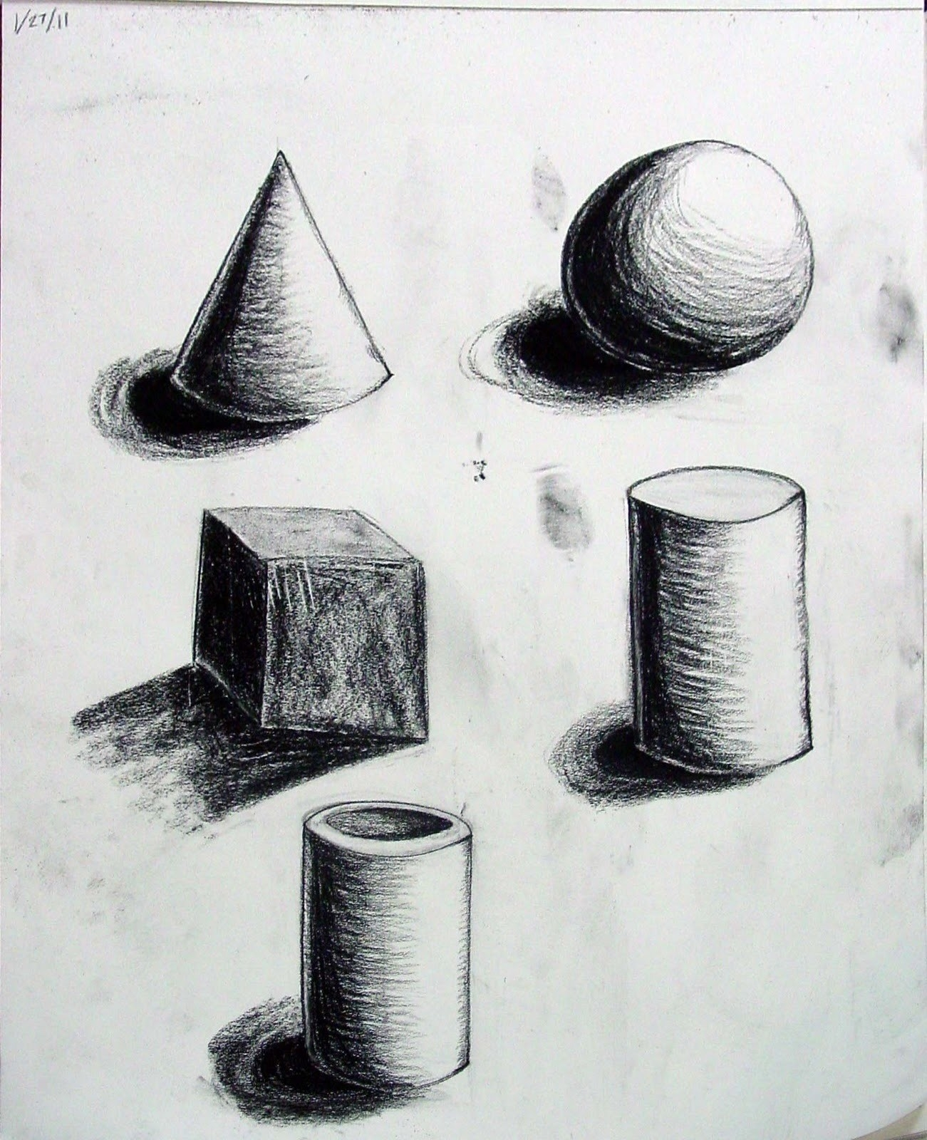 Elements Of Art Form Drawing   World Of Example for Form In Art Elements 23556