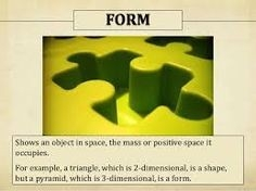 Elements Of Art: The Visual Components Of Color, Form, Line, Shape in Example Of Form In Art 23636