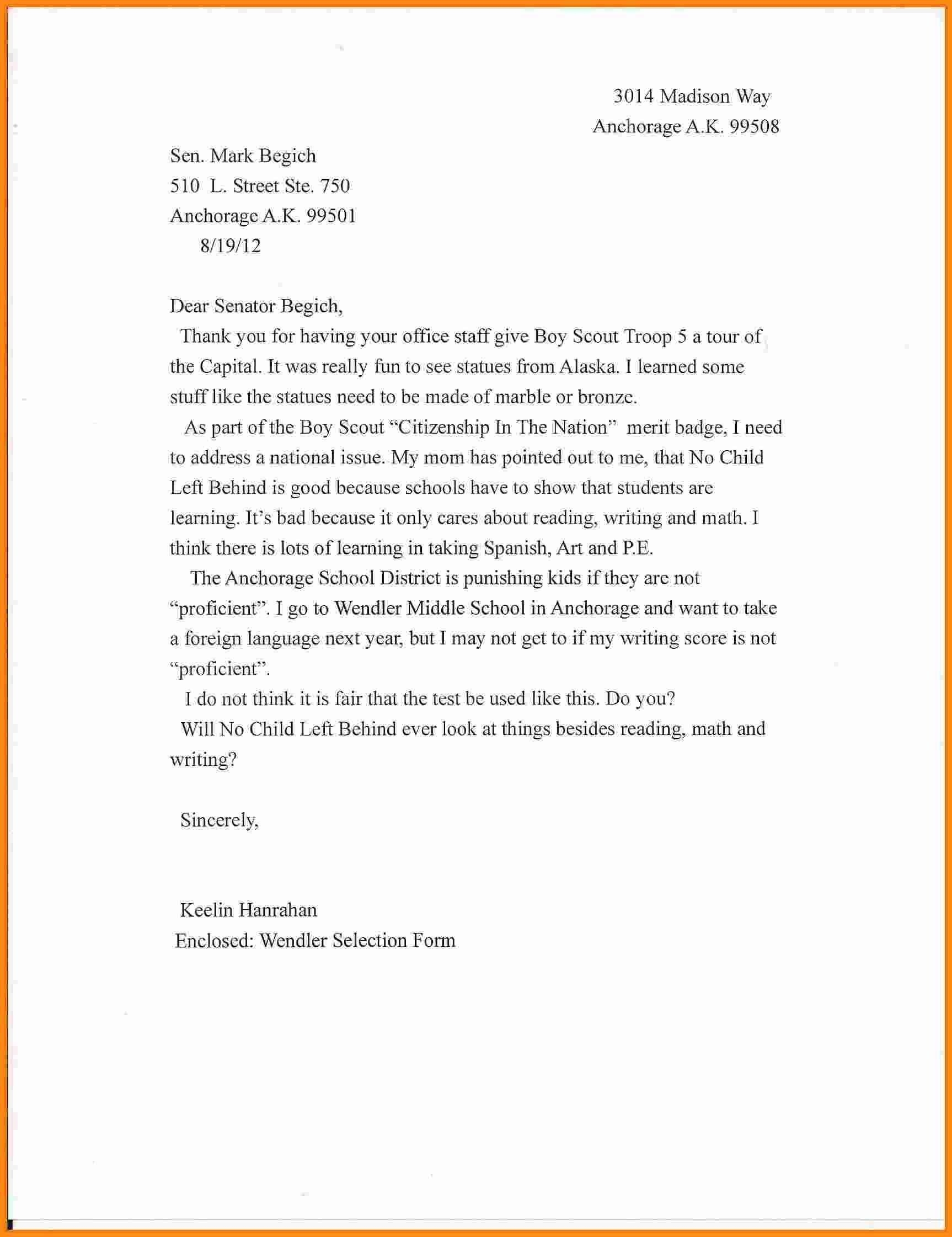 English Letter Format For School Copy Formal Letter Format For within Formal Letter Format For School 21731