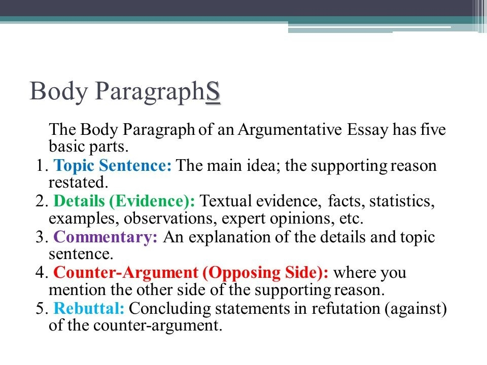 Essay Body Paragraph Topic Sentence Example - Math Problem - The regarding Body Paragraph Essay Example 18811