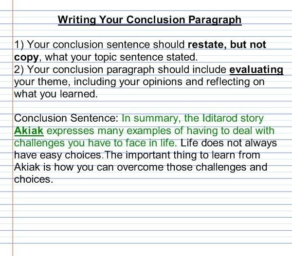 Essay Help Conclusion Paragraph  Student Essays For College Within