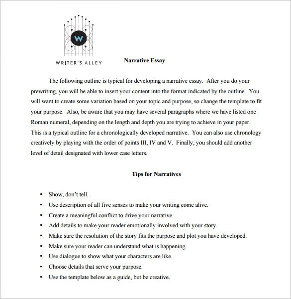 Essay Outline Template - 25+ Free Sample, Example, Format | Free for Essay Format Template 22014