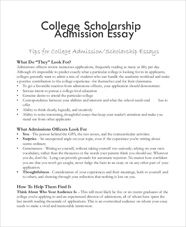Essays For College Scholarships - Fieldstation.co within College Scholarship Essay Format 21031