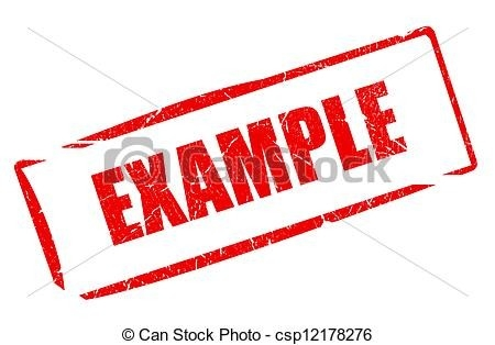 Example Stamp Isolated On White Stock Illustrations - Search Eps throughout Example Stamp Clipart 19774