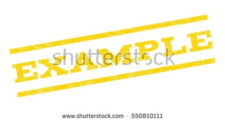 Example Watermark Stamp Text Caption Between Stock Vector for Sample Watermark Vector 19804