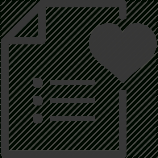 Favorite, Shopping List, Wish List Icon | Icon Search Engine in Shopping List Icon 22025