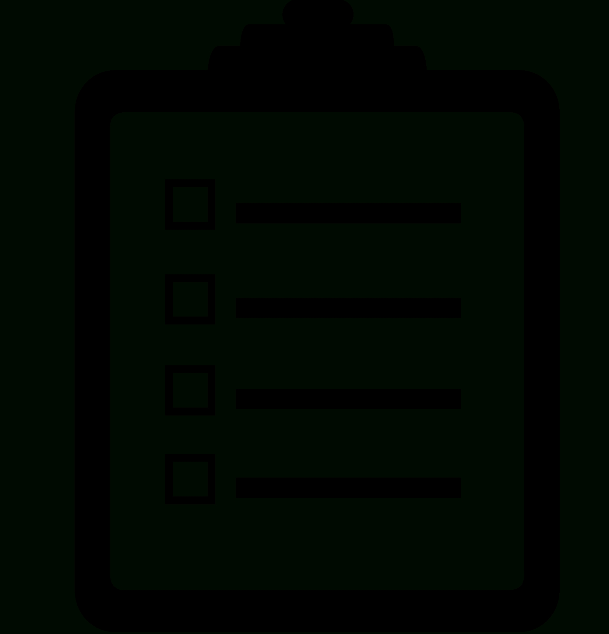 File:checklist Noun Project 5166.svg - Wikimedia Commons regarding White Checklist Png 24252