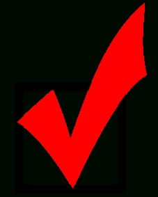 File:red Checkmark.svg - Wikimedia Commons pertaining to Checklist Red Png 24262