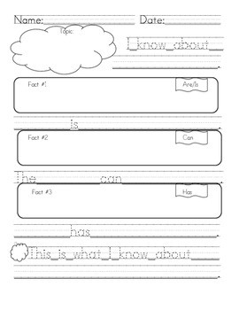 First Grade Informative/explanatory Writing Graphic Organizer | Tpt throughout Informative Graphic Organizer 21962
