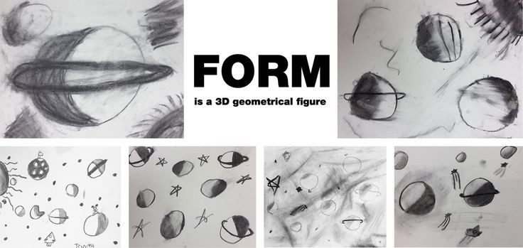 Form: 3D And Charcoal For Kids | Art Elements, Art Lessons And pertaining to Form In Art Elements 23556