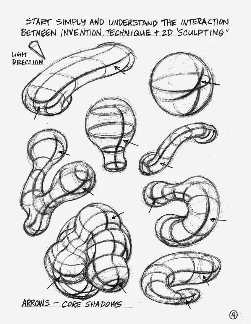 Form Drawing Exercises   World Of Example within Form Drawing Exercises 23726