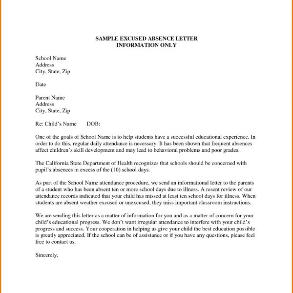 Letter Format To The Principal Of A School Best Formal Letter Format