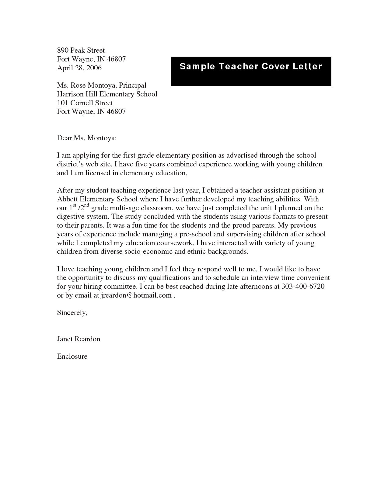 Formal Letter Format To A Teacher | World Of Example intended for Formal Letter Format To A Teacher 20036