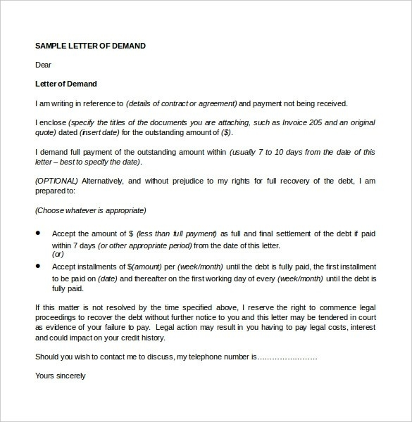 formal letter format to court examples and forms