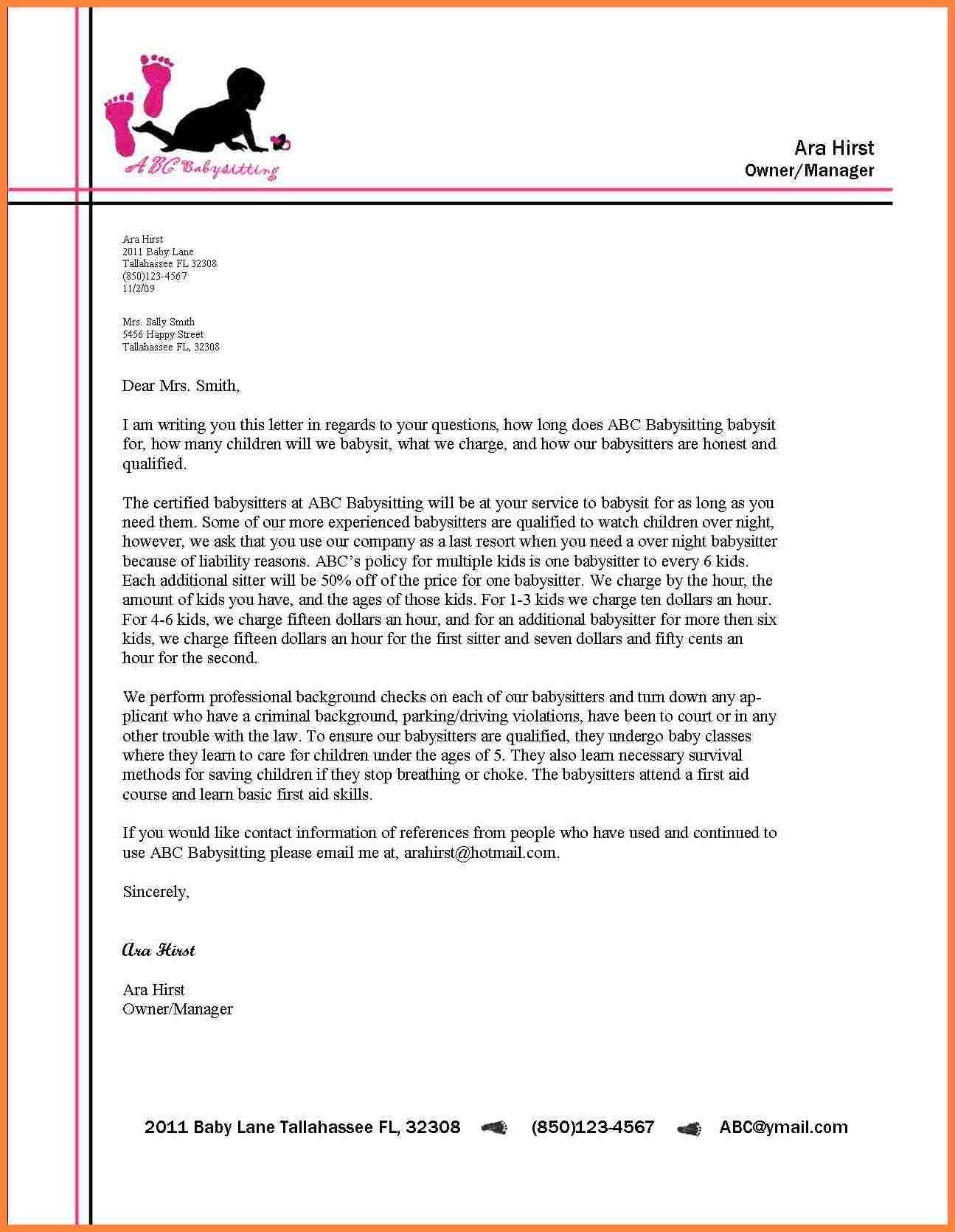 Formal Letter Writing Format Example New For Business Letter with Formal Business Letter Format With Letterhead 22374