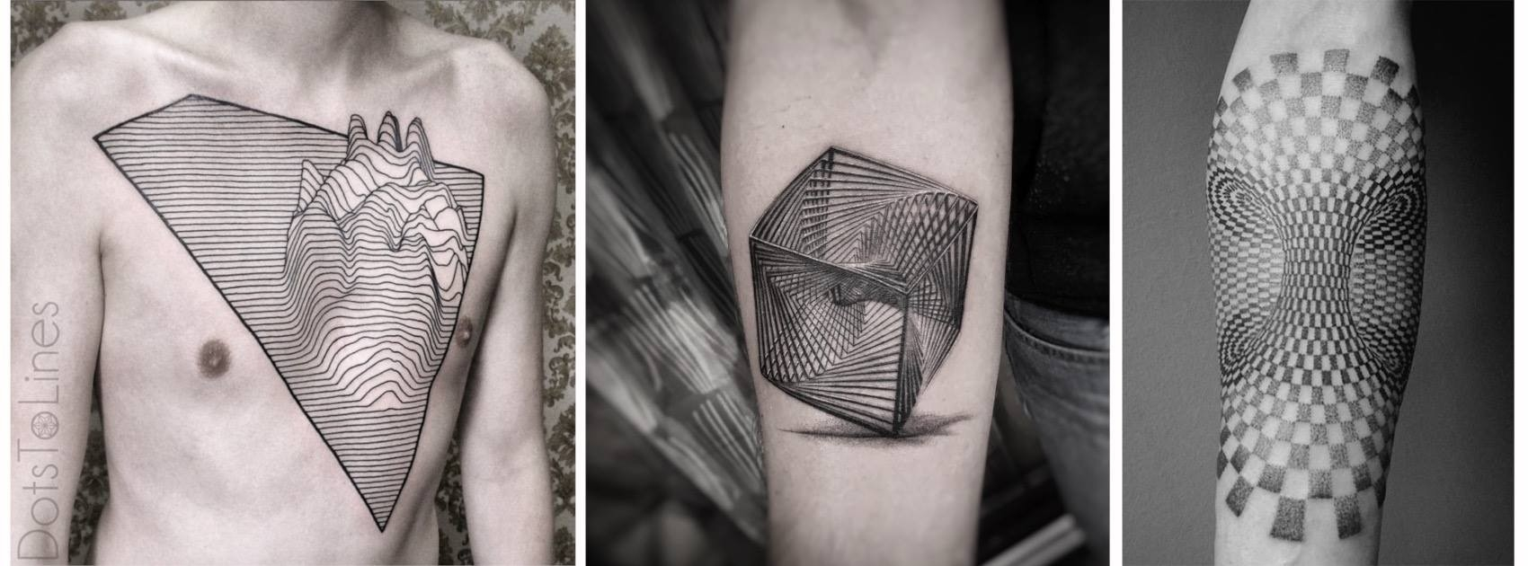 Formas Geometricas Tattoo Designs - Buscar Con Google | Tattoo throughout 3D Geometric Shapes Tattoo 19483