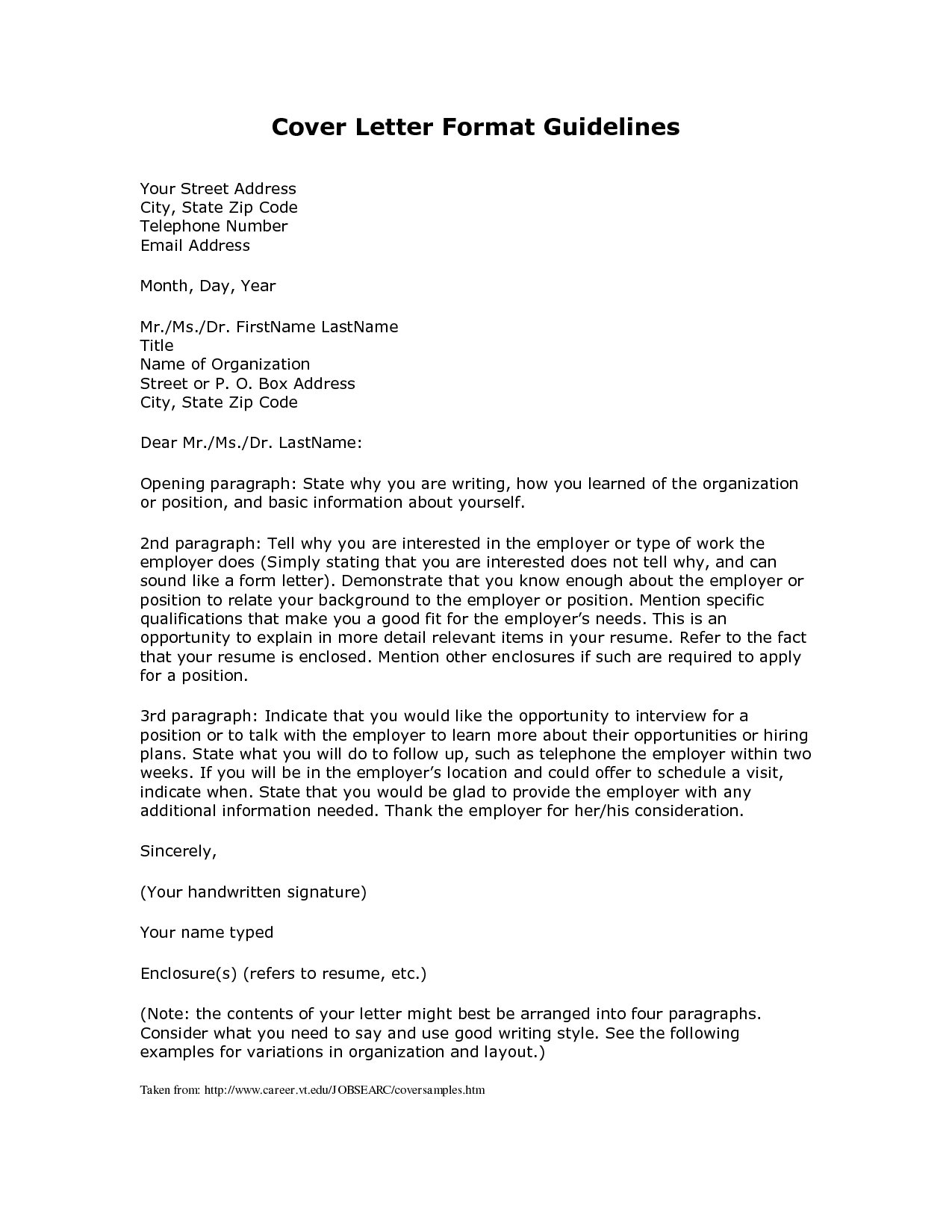 Format For Cover Letter - Buyretina intended for Formal Business Cover Letter Format 22544