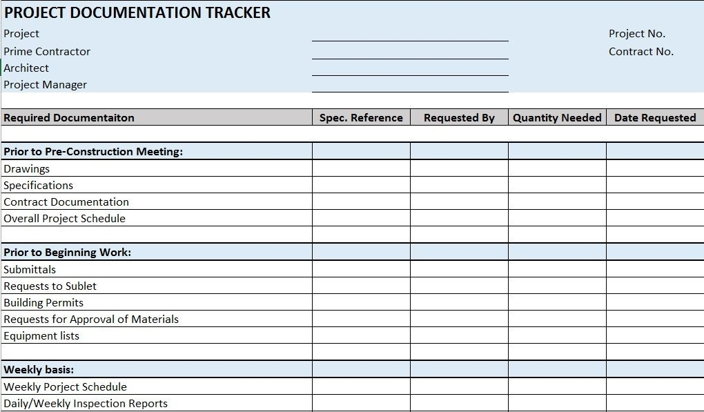 Project Checklist Template Excel  Examples And Forms