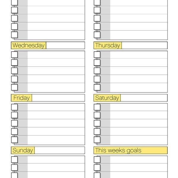 Free Printable Daily Routine Schedules : Selimtd Inside Daily Pertaining To Daily  Routine Checklist Template