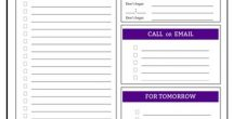 Printable Daily To Do Lists
