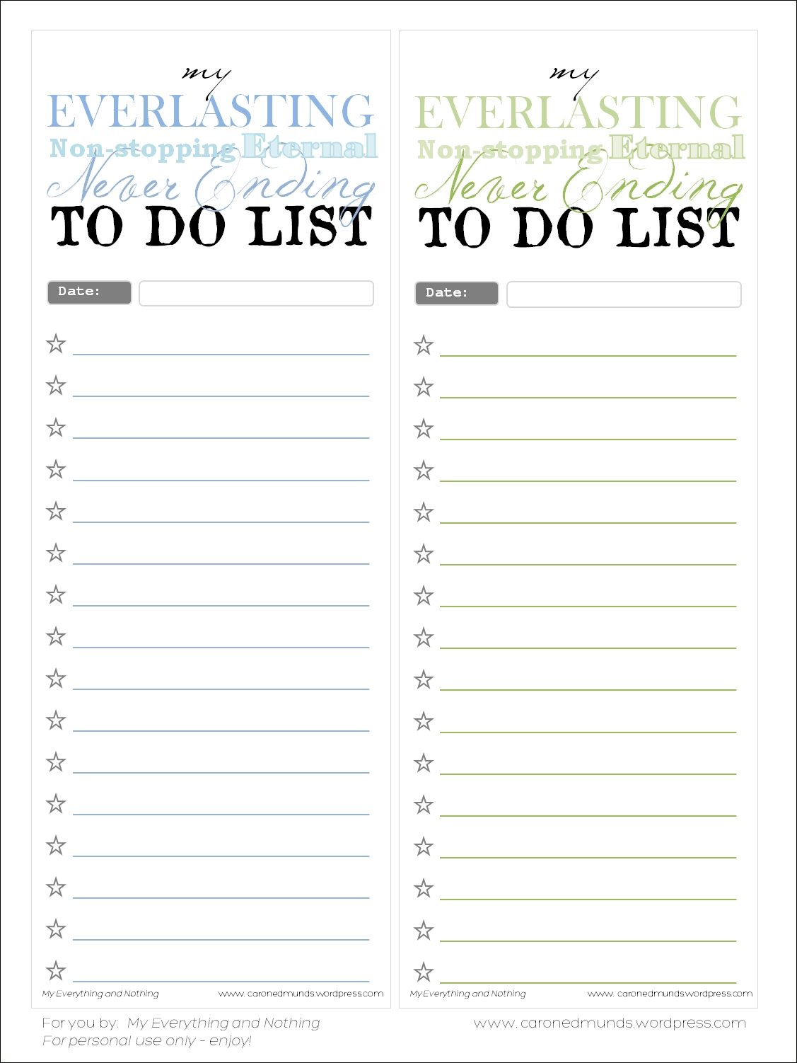 Free Printable – To Do Lists | Free Printable, Free And Free with Printable To Do List Vintage 21541