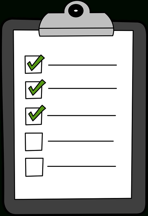 Free Vector Graphic: Clipboard, Green, Check, List - Free Image On in Checklist Clipboard 20388