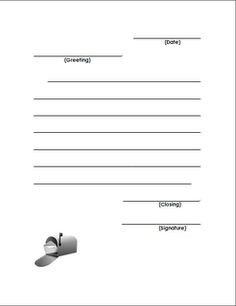 Friendly Letter Format 2Nd Grade | Templates Corner pertaining to Friendly Letter Format 2Nd Grade 20901