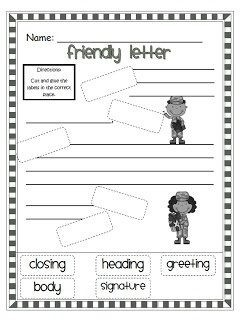 Friendly Letter Format 2Nd Grade | Theveliger Intended For inside Friendly Letter Format 2Nd Grade 20901