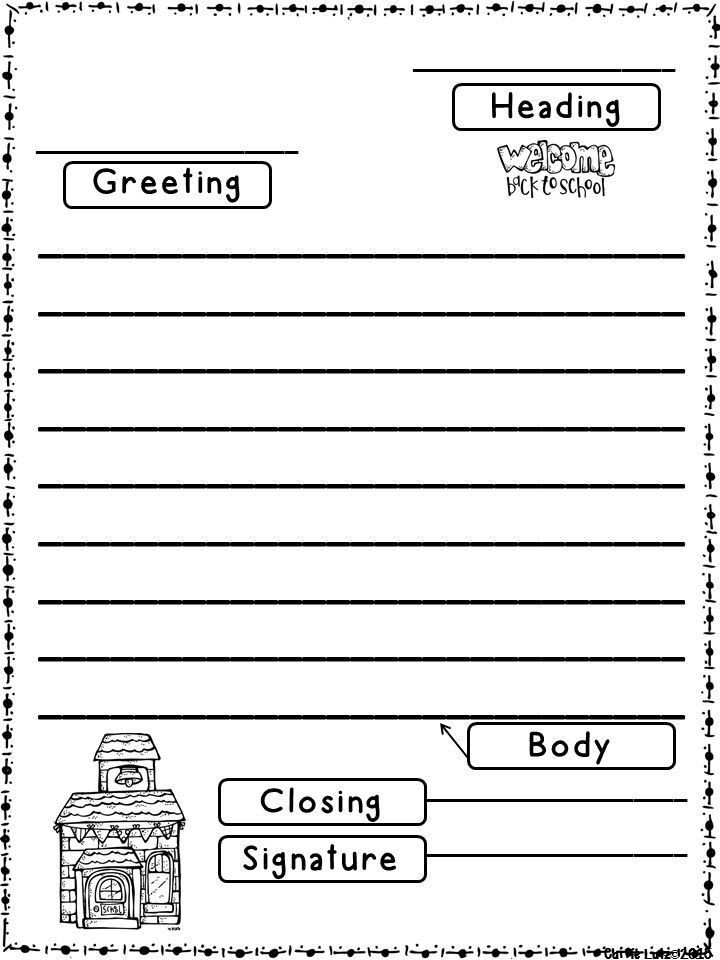 Friendly Letter Format First Grade | Theveliger throughout Friendly Letter Format First Grade 20911