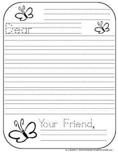 Friendly Letter Format First Grade | World Of Example inside Friendly Letter Format First Grade 20911