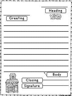 Friendly Letter Format First Grade | World Of Example intended for Friendly Letter Format First Grade 20911