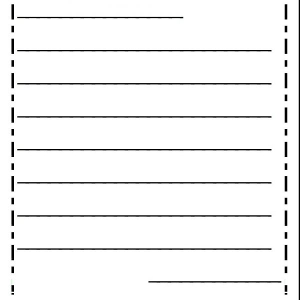 Friendly Letter Template First Grade  Template Idea With Friendly
