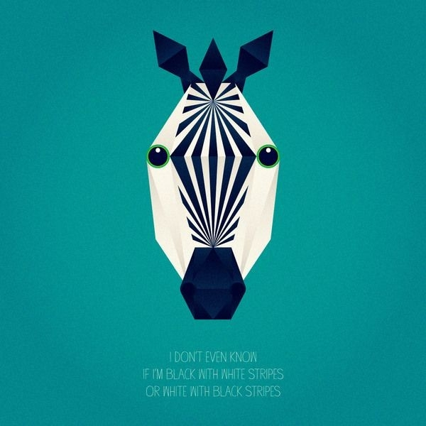 Fun-Geometric-Shapes-Design-Zebra | Child | Pinterest | Geometric in Geometric Shapes Design Animals 24523