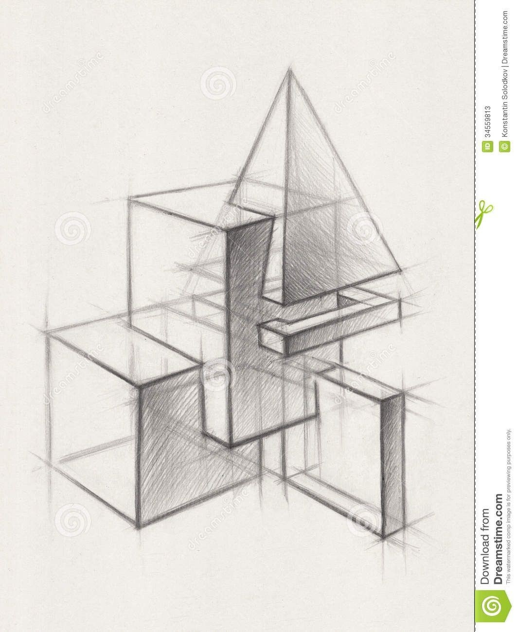 Geometric Form Drawing - Google Search | Geometria | Pinterest throughout Geometric Form Drawing 23756
