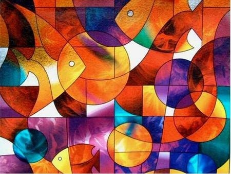 Geometric Shape Design Images | Stained Glass | Pinterest within Geometric Shape Art 24089