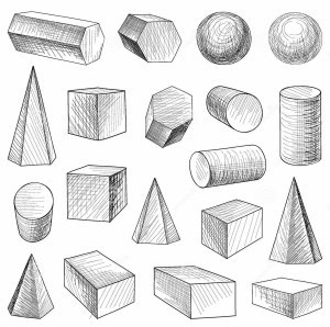 Geometric Shape Drawing | World Of Example regarding Geometric Shape Drawing 24413
