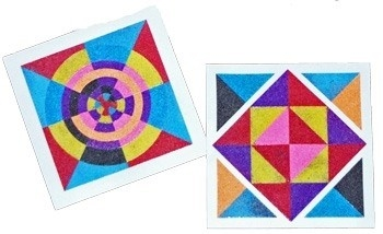 Geometric Shapes Art | World Of Example inside Geometric Shapes Art 23948