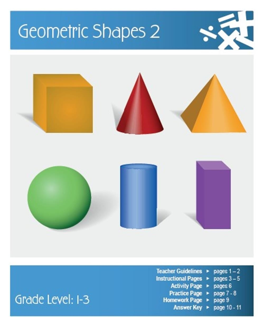 Geometric Shapes Lesson Plan | Clarendon Learning with Geometry Shapes 24553