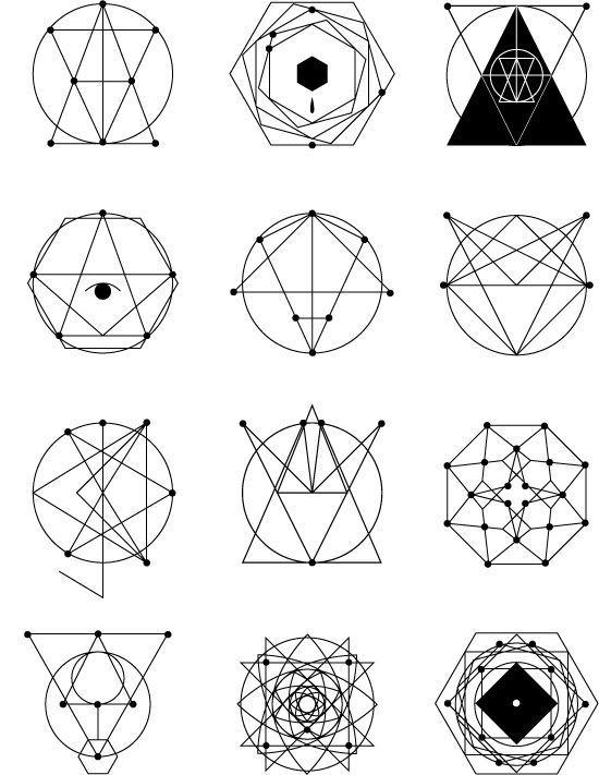 Geometric #tattoos | Sacred Geometry | Pinterest | Geometric pertaining to Geometric Shapes Design Tattoo 24513
