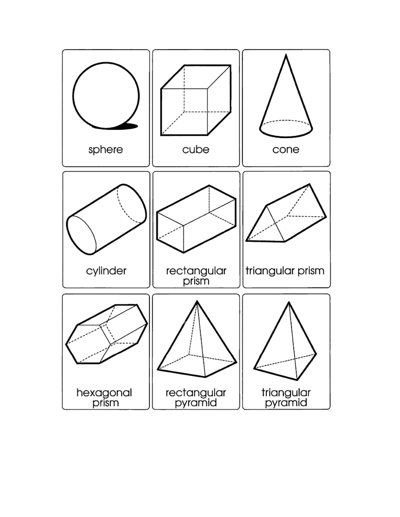 Geometric Template Category Page 1 - Odavet pertaining to 3D Geometric Shapes Templates 19493