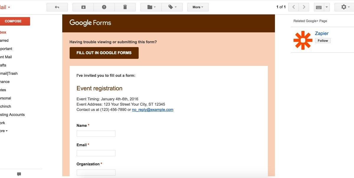 Google Forms Guide: Everything You Need To Make Great Forms For in Google Forms Examples