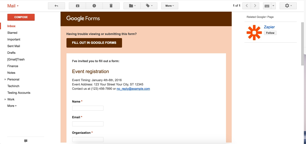 Google Forms Guide: Everything You Need To Make Great Forms For in Google Forms Examples 24673