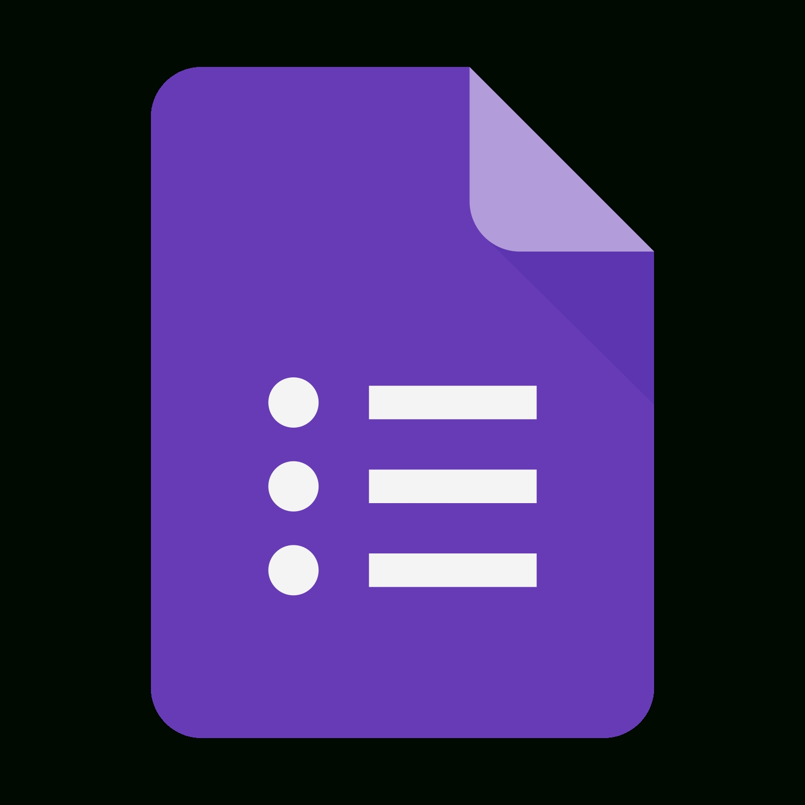 Google Forms New Logo Icon - Free Download, Png And Vector for Google Forms Logo 24653